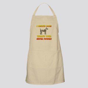 I Rescue Dogs - What's Your Super Power? Apron