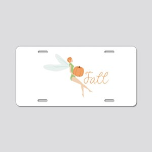 Fall Fairy Aluminum License Plate