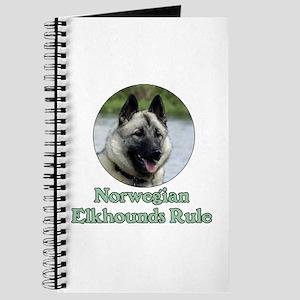 Norwegian Elkhounds Rule Journal