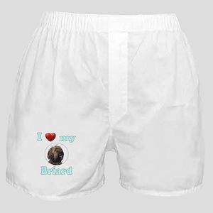 I Love My Briard Boxer Shorts