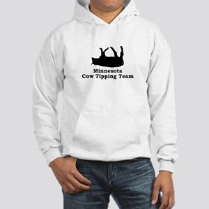 Minnesota Cow Tipping Hooded Sweatshirt