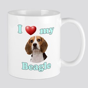 I Love My Beagle Mug