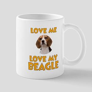 Love Me, Love My Beagle Mug
