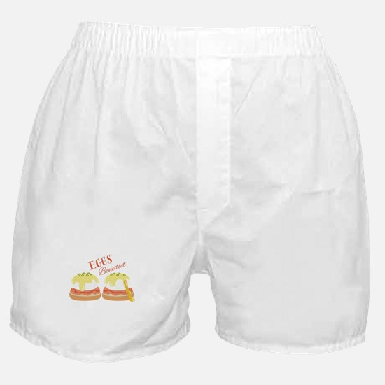 Eggs Benedict Boxer Shorts