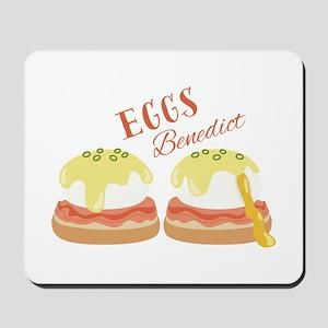 Eggs Benedict Mousepad
