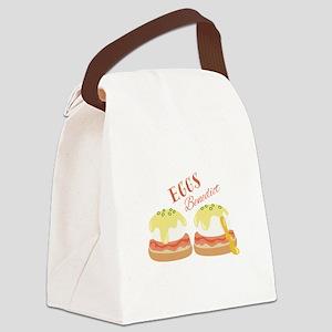 Eggs Benedict Canvas Lunch Bag