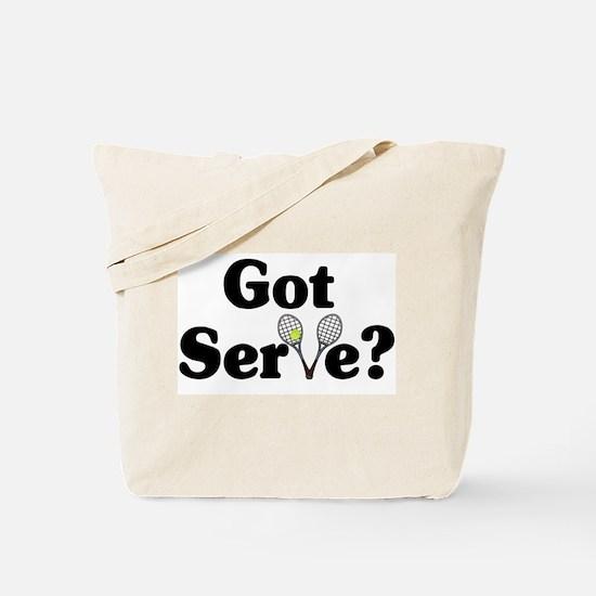 Got Serve? Tennis Tote Bag