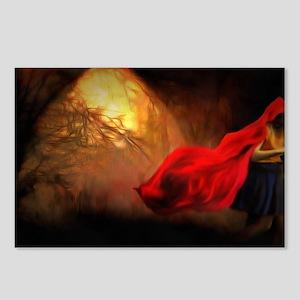 Little Red Riding Hood Story Art Postcards (Packag