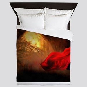 Little Red Riding Hood Story Art Queen Duvet