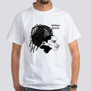 Afrikan Queen Women's Pink T-Shirt