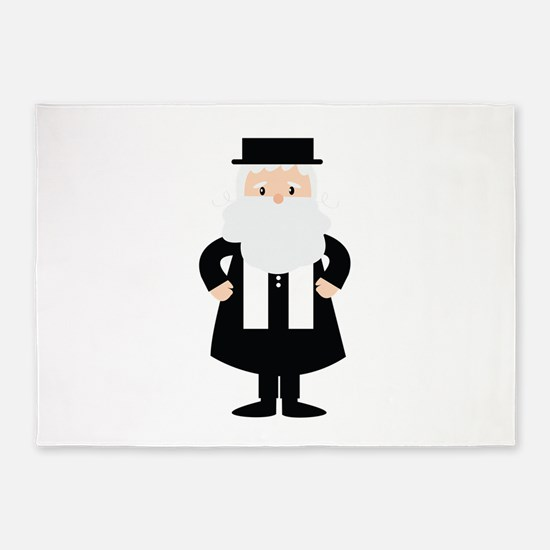 Rabbi 5'x7'Area Rug