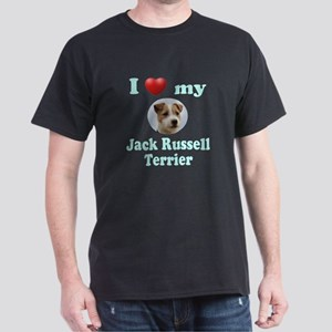 I Love My Jack Russell Terrier Dark T-Shirt