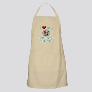 I Love My Jack Russell Terrier Apron