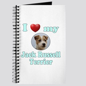 I Love My Jack Russell Terrier Journal