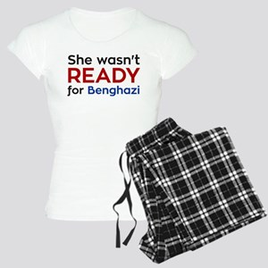 She wasn't READY for Benghazi pajamas