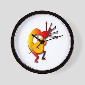 One Kokopelli #27 Wall Clock