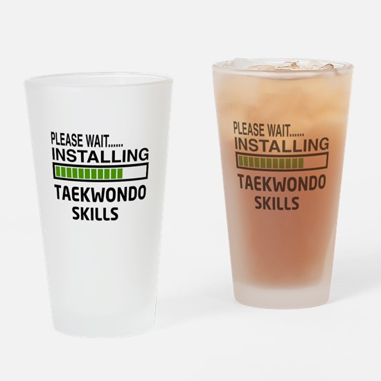 Please wait, Installing Taekwondo s Drinking Glass