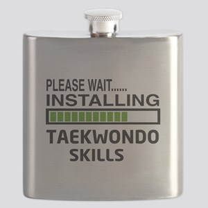 Please wait, Installing Taekwondo skills Flask