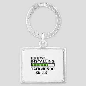 Please wait, Installing Taekwon Landscape Keychain
