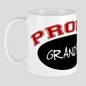 Proud Grandpa (red & black) Mug