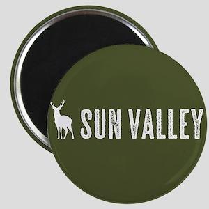 Deer: Sun Valley, Idaho Magnet