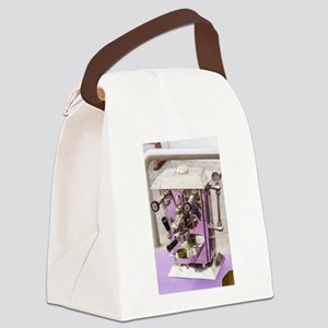 Antique coffee machine Canvas Lunch Bag