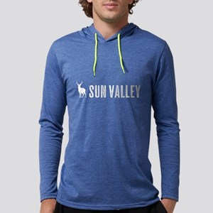 Deer: Sun Valley, Idaho Mens Hooded Shirt