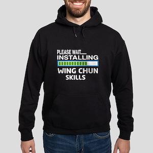 Please wait, Installing Wing Chun sk Hoodie (dark)