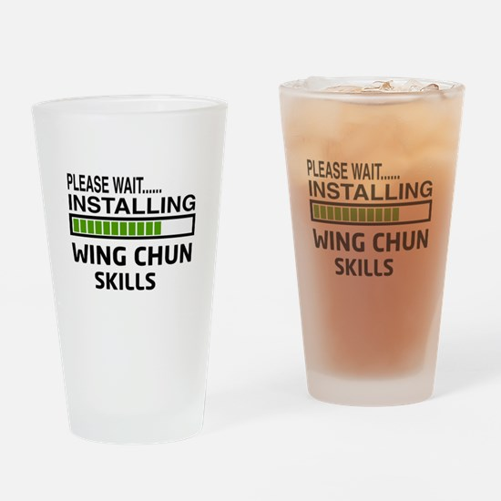 Please wait, Installing Wing Chun s Drinking Glass