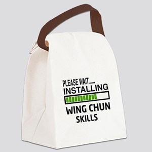 Please wait, Installing Wing Chun Canvas Lunch Bag