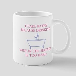 I Take Baths Mug
