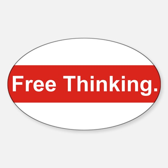 Free Thinking Decal