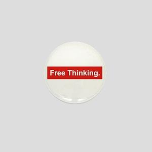 Free Thinking Mini Button