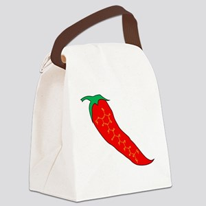 Capsaicin Pepper Canvas Lunch Bag