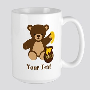 Cute Honey Bear; Personalized Kid's Graphic Travel