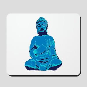 Buddha blue Mousepad