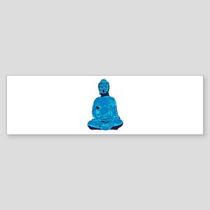 Buddha blue Bumper Sticker