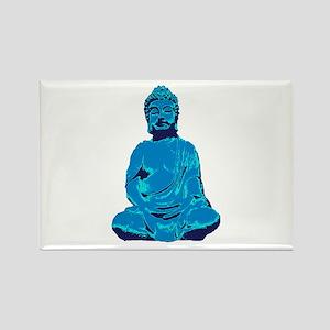 Buddha blue Magnets