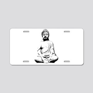 Buddha Aluminum License Plate