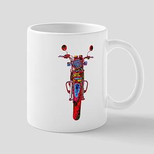 Motorrad frontal Mugs
