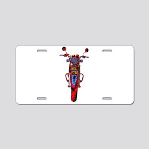 Motorrad frontal Aluminum License Plate