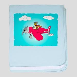 Jacky Pilot baby blanket