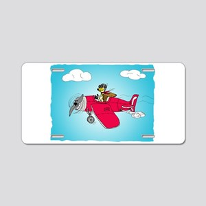 Jacky Pilot Aluminum License Plate