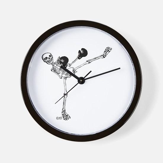 Kickboxer Wall Clock