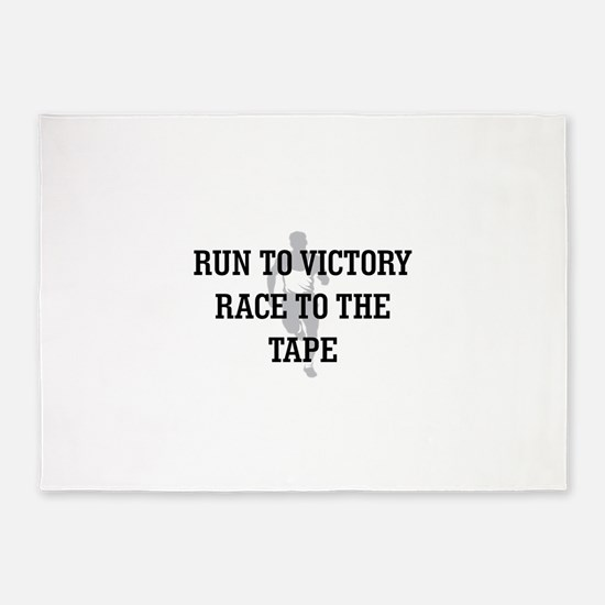 Race to the Tape 5'x7'Area Rug