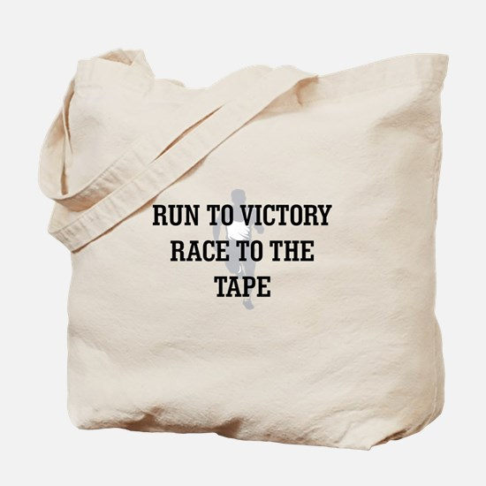 Race to the Tape Tote Bag