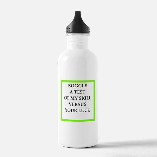 boggle Water Bottle