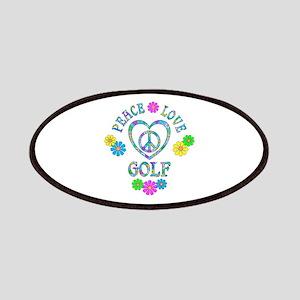 Peace Love Golf Patch