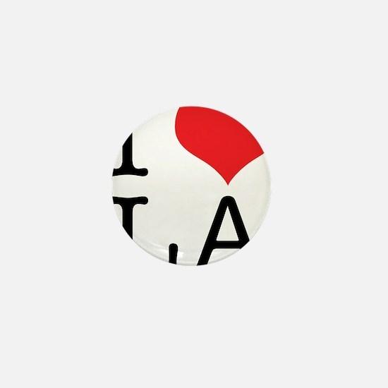 I Love Los Angeles Mini Button