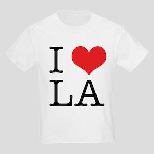 I Love Los Angeles Kids Light T-Shirt